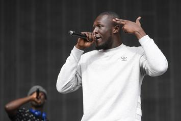 "Stormzy Performs Cover Of Kanye West's ""Ultralight Beam"" On BBC Radio 1"