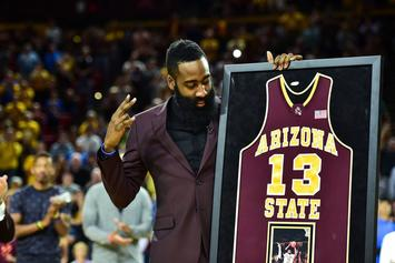 """Adidas Unveils """"Fear The Fork"""" Harden Vol. 1 In Honor Of Arizona State"""