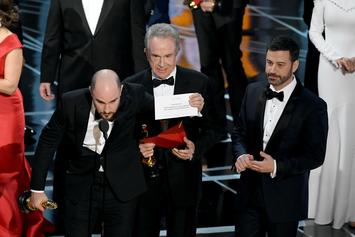 Twitter Reacts To Moonlight/La La Land Oscar Blunder