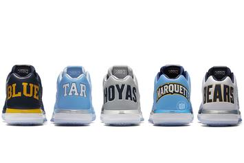 "Jordan Brand Unveils Air Jordan 31 Low ""NCAA"" Pack For Georgetown, UNC +More"