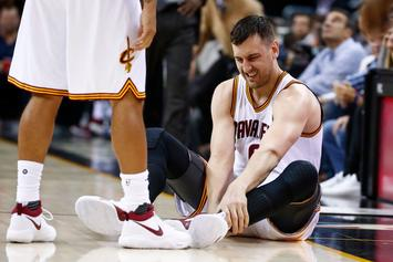 "LeBron James On Andrew Bogut's Brutal Leg Injury: ""I Heard It Break"""