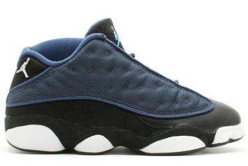 """""""Brave Blue"""" Air Jordan 13 Low Slated To Release In April"""