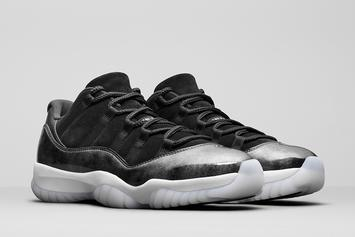 """Barons"" Air Jordan 11 Low Release Date Announced"