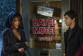 "Watch Rihanna's Cameo & Shower Scene From A&E's ""Bates Motel"""