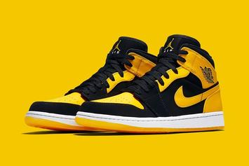 """New Love"" Air Jordan 1 Mids Confirmed For April"