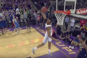 Watch The Best Highlights From This Year's College Dunk Contest