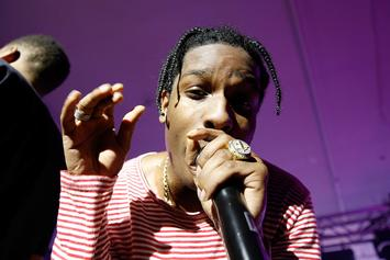 ASAP Rocky Makes A Surprise Appearance At Skepta's Show In London