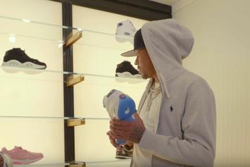 "Watch Allen Iverson Go ""Sneaker Shopping"" At Lapstone & Hammer In Philly"