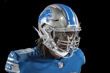 Detroit Lions Debut New Uniforms For Next Season
