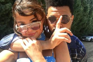 The Weeknd & Selena Gomez Tongue Wrestle At Coachella