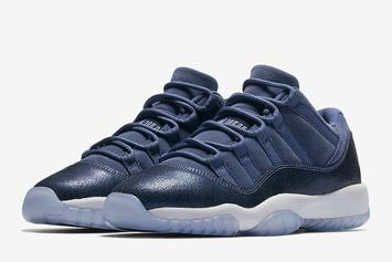 """Blue Moon"" Air Jordan 11 Low To Release This Weekend"