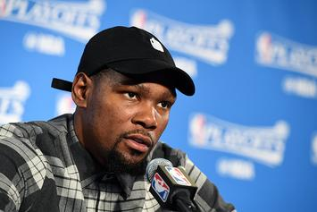 "Kevin Durant Launches ""Still KD"" Video Series Documenting His Playoff Journey"