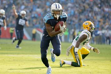 Titans WR Tajae Sharpe Accused Of Assaulting Man On Night Of NFL Draft