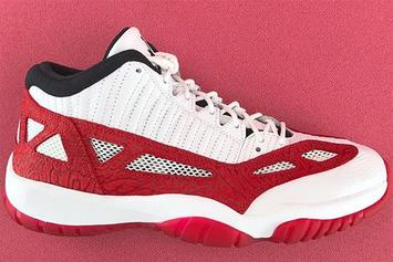 """Fire Red"" Air Jordan 11 Low IE Set To Release This Summer"