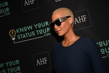 Amber Rose Reportedly Asks Club Not To Play Songs By Her Exes