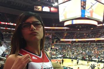 Mia Khalifa Trolls Celtics' Isaiah Thomas, Kelly Olynyk Despite Wizards' Game 7 Loss