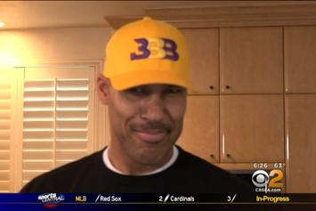 Watch LaVar And Lonzo React To Lakers Getting 2nd Pick In NBA Draft