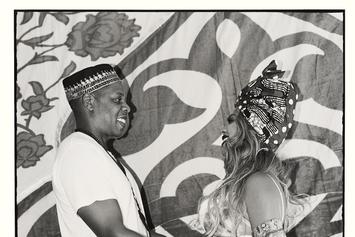 "Beyonce Shows Off Baby Bump At ""Carter Push"" Baby Shower"
