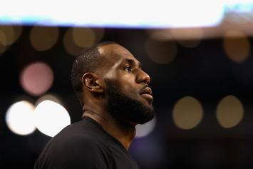 "LeBron James Responds To Vandalism: ""Being Black In America Is Tough"""