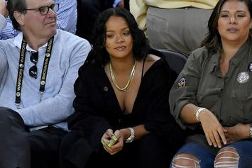 Apple Exec Eddy Cue Denies Yelling At Rihanna During Game 1 Last Night