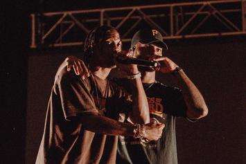 Bryson Tiller Brings Out Travis Scott at New York Show