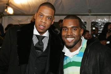 "Kanye West, Jay Z, & Big Sean's ""Clique"" Goes Triple Platinum"