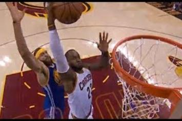 Boomshakalaka! LeBron Throws It Down in Game 3 Of The NBA Finals