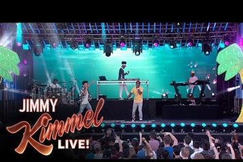 "Watch Kyle & Lil Yachty Perform ""iSpy"" On Kimmel"