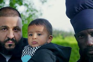 "DJ Khaled Feat. Sizzla ""Im So Grateful (Intro)"" Video"
