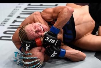 """UFC's Justine Kish Defecates In Ring During Loss: """"Sh*t Happens"""""""