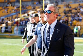 Colts Owner Jim Irsay Tweets Graphic Photo