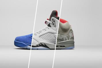 Jordan Brand Debuts Five New Air Jordan 5 Colorways + Release Info