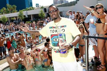 Diddy Laughs Over DJ Whoo Kid's Vodka Etiquette