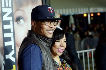 """Tiny Defends T.I.'s Integrity After Fan Calls Him """"Cheater"""""""