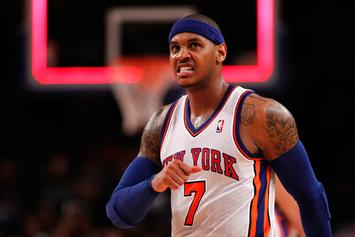 Carmelo Anthony Will Reportedly Only Approve Trade To Houston Rockets