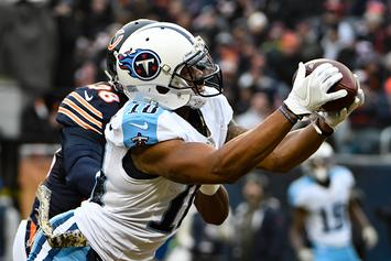 Tennessee Titans WR Shows Off Barack And Michelle Obama Tattoo