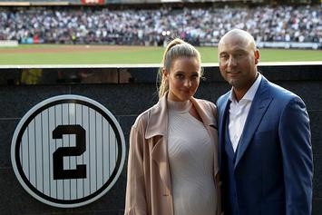 Derek Jeter's Wife Hannah Davis Gives Birth To Their First Child