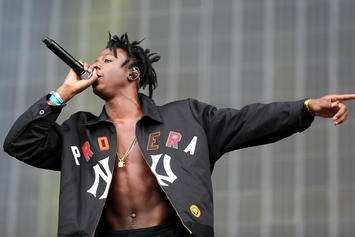 Joey Bada$$ Looks At Eclipse Without Glasses, Later Announces Cancelled Shows