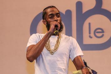 Nipsey Hussle Spends Monday Night In Jail After Parking In Handicap Spot