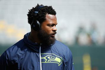 Seahawks' Michael Bennett Plans To Sue Vegas Police: Video