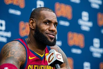 """LeBron Calls Out """"Shit Show"""" Keeping Up With The Kardashian Film Crew"""