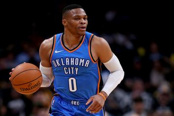 Russell Westbrook Reveals Epic Halloween Costume With Nick Collison