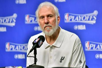 "Spurs' Gregg Popovich Calls Donald Trump A ""Soulless Coward"""