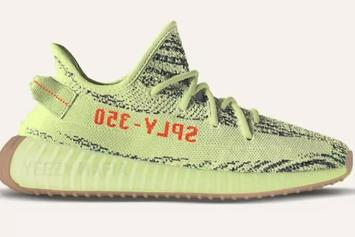 """Semi-Frozen Yellow"" Yeezy Boost 350 V2 Release Date Announced"