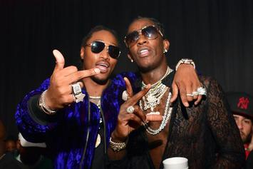 "Future & Young Thug's ""Super Slimey"" First Week Sales Projections: Report"