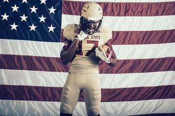 "Arizona State Honors Pat Tillman With Special ""Brotherhood"" Uniforms"