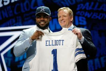 Ezekiel Elliott's Legal Team Trying To Settle With NFL, Reduce Suspension