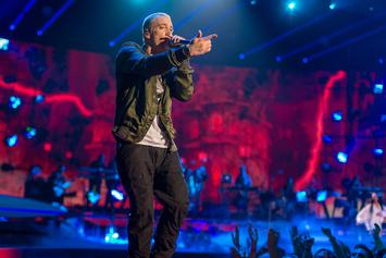 "Eminem Teases New Single ""Walk On Water"""