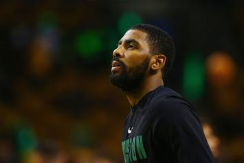 Kyrie Irving To Wear Protective Mask After Suffering Facial Fracture