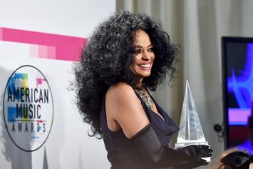 Diana Ross Receives Lifetime Achievement Award At AMAs